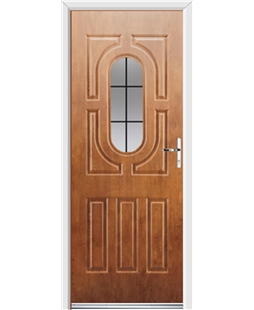 Ultimate Arcacia Rockdoor in Light Oak with Square Lead
