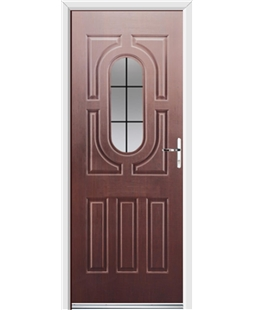 Ultimate Arcacia Rockdoor in Rosewood with Square Lead