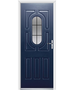 Ultimate Arcacia Rockdoor in Sapphire Blue with Square Lead