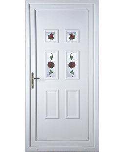 Aylesbury Creeping Rose uPVC High Security Door