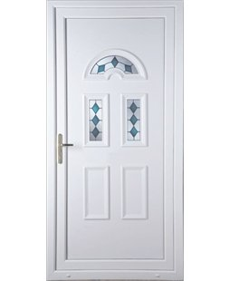 Brighton Blue Jewel uPVC High Security Door