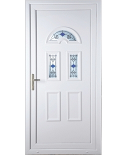 Brighton Blue Tulip uPVC High Security Door
