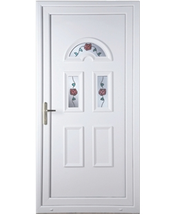 Brighton Climbing Rose uPVC High Security Door