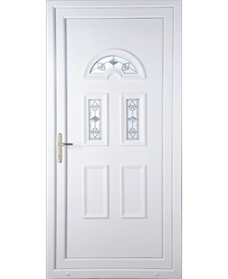 High Security uPVC Doors in White