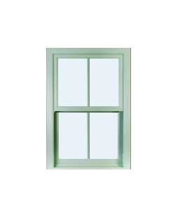 West Midlands uPVC Sliding Sash Window in Chartwell Green