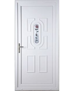 Cheltenham Single Rose uPVC High Security Door