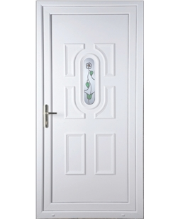 Cheltenham White Rose uPVC High Security Door