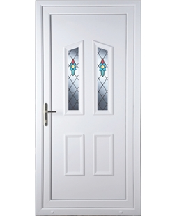 Doncaster Bell Flower uPVC High Security Door