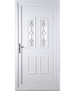 Doncaster Queen Anne Bevel uPVC High Security Door