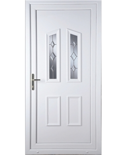Doncaster Star Cut Bevel uPVC Door