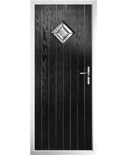 The Reading Composite Door in Black with Simplicity