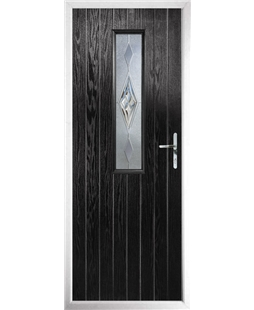 The Sheffield Composite Door in Black with Knightsbridge