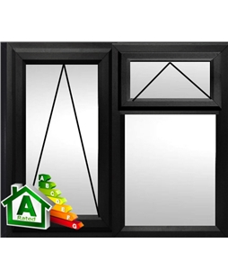 The Hull uPVC Double / Triple Glazing Windows in  Black
