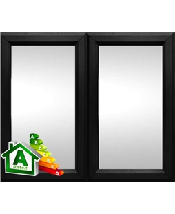 The Bristol uPVC Double / Triple Glazing Windows in  Black