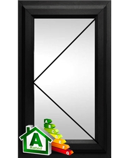 The Bolton uPVC Double / Triple Glazing Windows in  Black