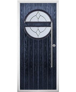 The Xenia Composite Door in Blue with Classic Glazing