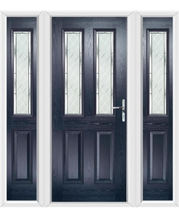 The Cardiff Composite Door with Side Panels