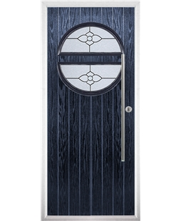The Xenia Composite Door in Blue with Finesse Glazing