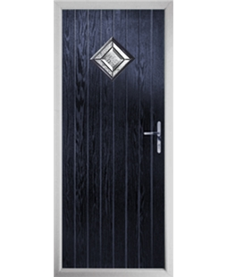 The Reading Composite Door in Blue with Simplicity