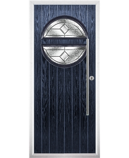 The Xenia Composite Door in Blue with Simplicity