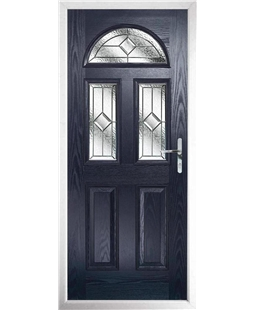 The Glasgow Composite Door in Blue with Simplicity