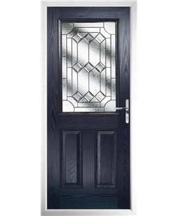 The Farnborough Composite Door in Blue with Simplicity