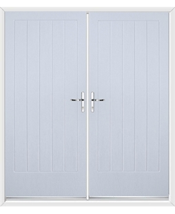 Indiana French Rockdoor Blue White