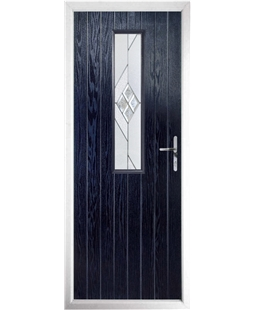 The Sheffield Composite Door in Blue with Eclipse