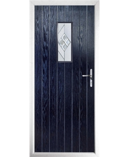 The Taunton Composite Door in Blue with Eclipse