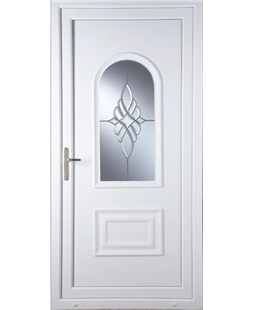 Epsom Bevel Cluster uPVC High Security Door