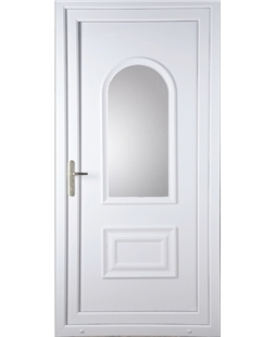Epsom Glazed uPVC High Security Door