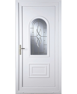 Epsom Cullingworth Bevel Border uPVC Door