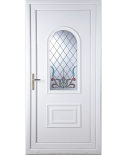 Epsom Scroll uPVC High Security Door