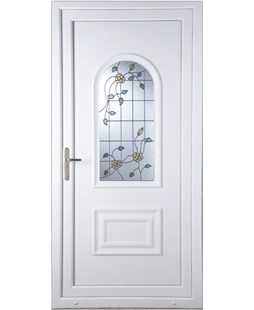 Epsom Yellow Rose uPVC Door
