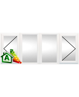 Wolverhampton uPVC Double / Triple Glazing Windows in White