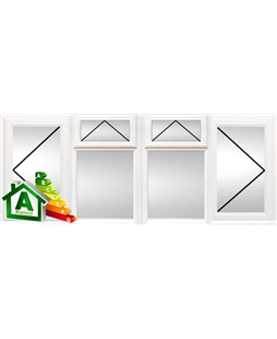 York uPVC Double / Triple Glazing Windows in White