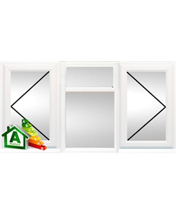 Portsmouth uPVC Double / Triple Glazing Windows in White