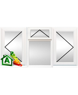 Preston uPVC Double / Triple Glazing Windows in White