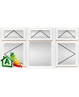 Sheffield uPVC Double / Triple Glazing Windows in White