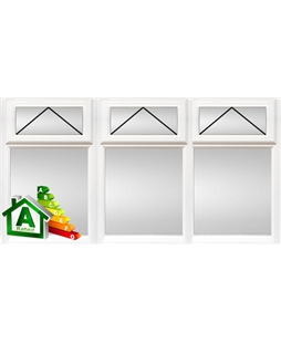 London uPVC Double / Triple Glazing Windows in White