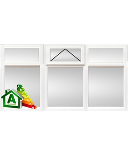 Newcastle uPVC Double / Triple Glazing Windows in White
