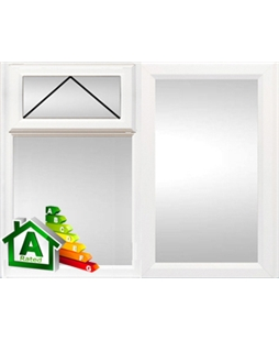 Bristol uPVC Double / Triple Glazing Windows in White