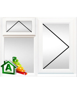 Derby uPVC Double / Triple Glazing Windows in White