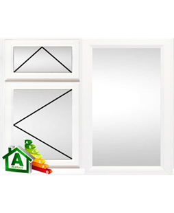 Durham uPVC Double / Triple Glazing Windows in White
