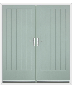 Indiana French Rockdoor Chartwell Green