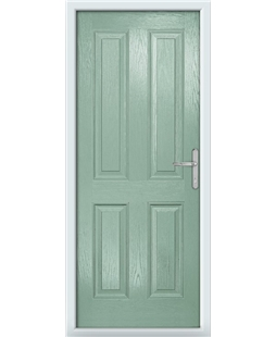 The Manchester Composite Door in Green (Chartwell)