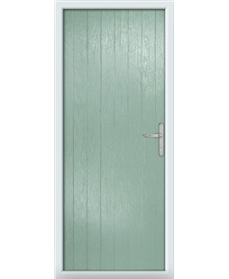 The Newcastle Composite Door in Green (Chartwell)