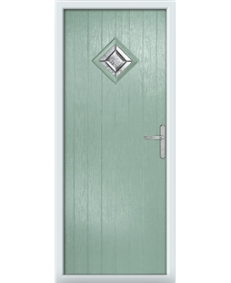 The Reading Composite Door in Green (Chartwell) with Simplicity