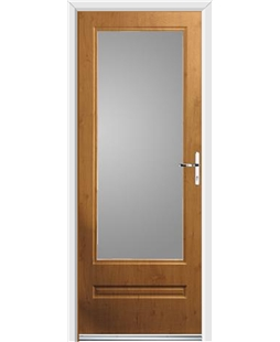Ultimate Classic Rockdoor in Irish Oak with Glazing