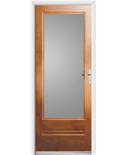 Ultimate Classic Rockdoor in Light Oak with Glazing